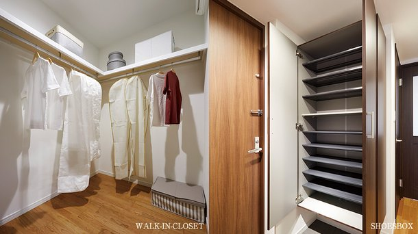 WALK IN CLOSET / SHOESBOX