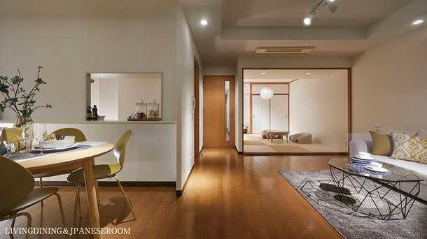 LIVING DINING & JAPANESE ROOM