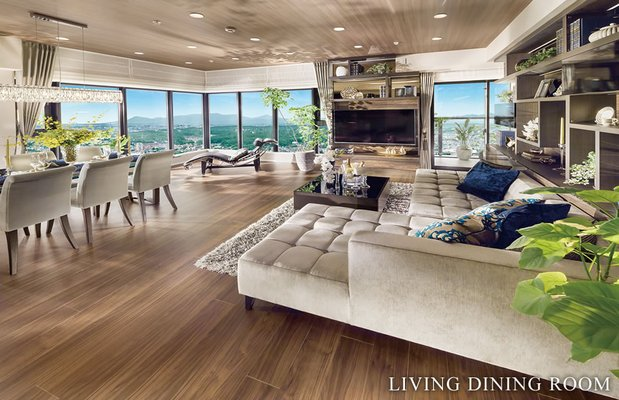 LIVING DINIG ROOM