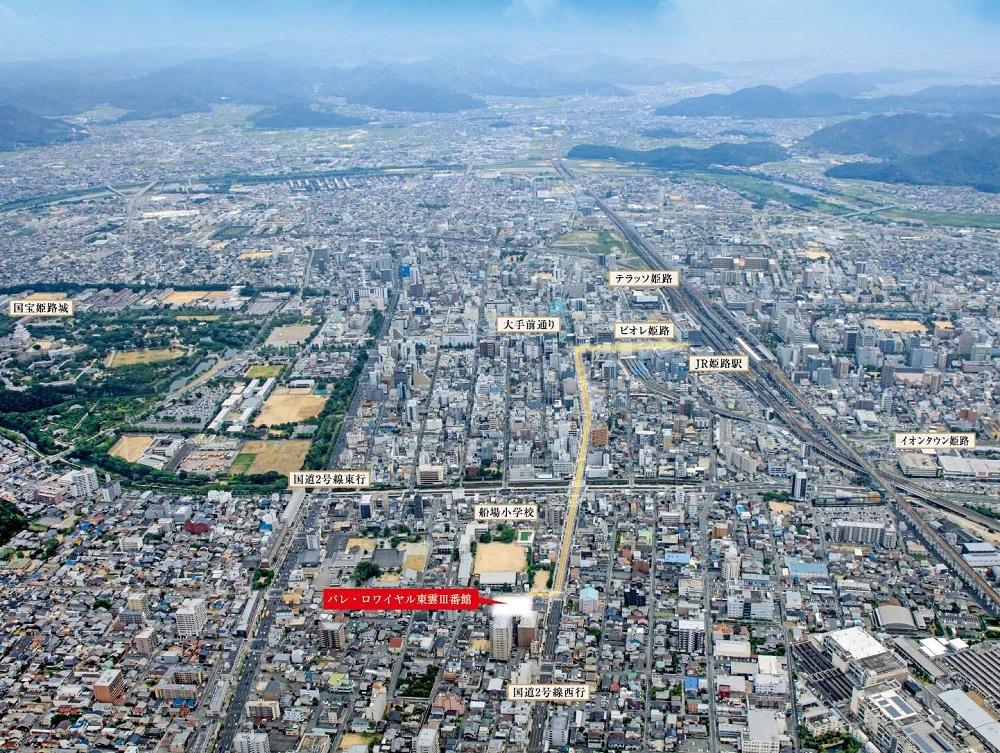 パレ・ロワイヤル東雲III番館 航空写真