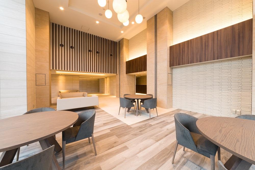 バンベール小牧カーサシティ(Owners Lounge 'Luxe Side'完成写真(2018年11月撮影))