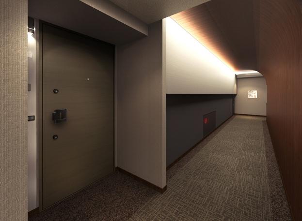 内廊下 完成予想図