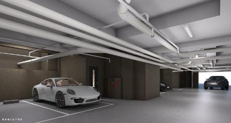 駐車場完成予想図