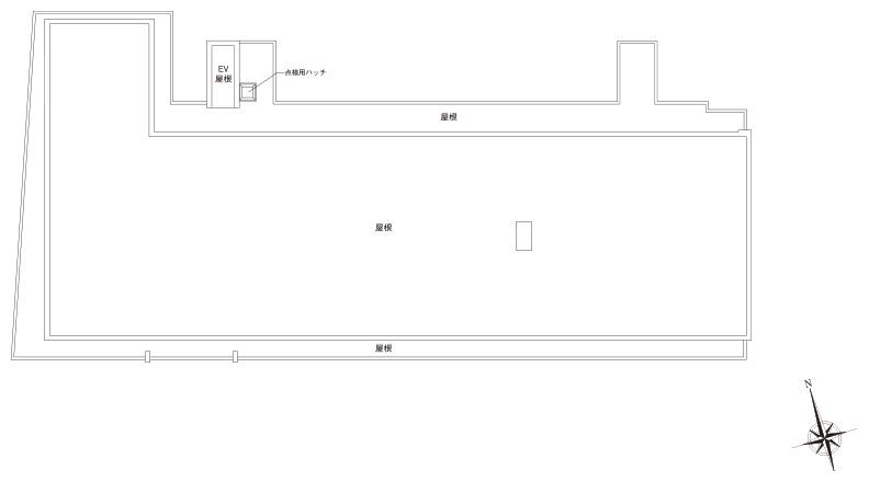 屋上配置図