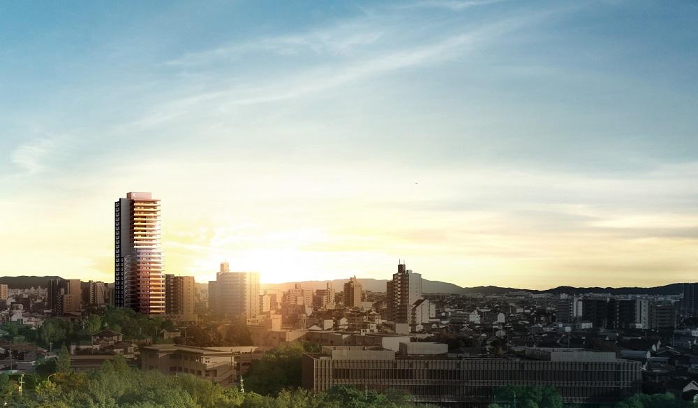 エクセルグランデ刈谷銀座タワー(外観完成予想図(1))