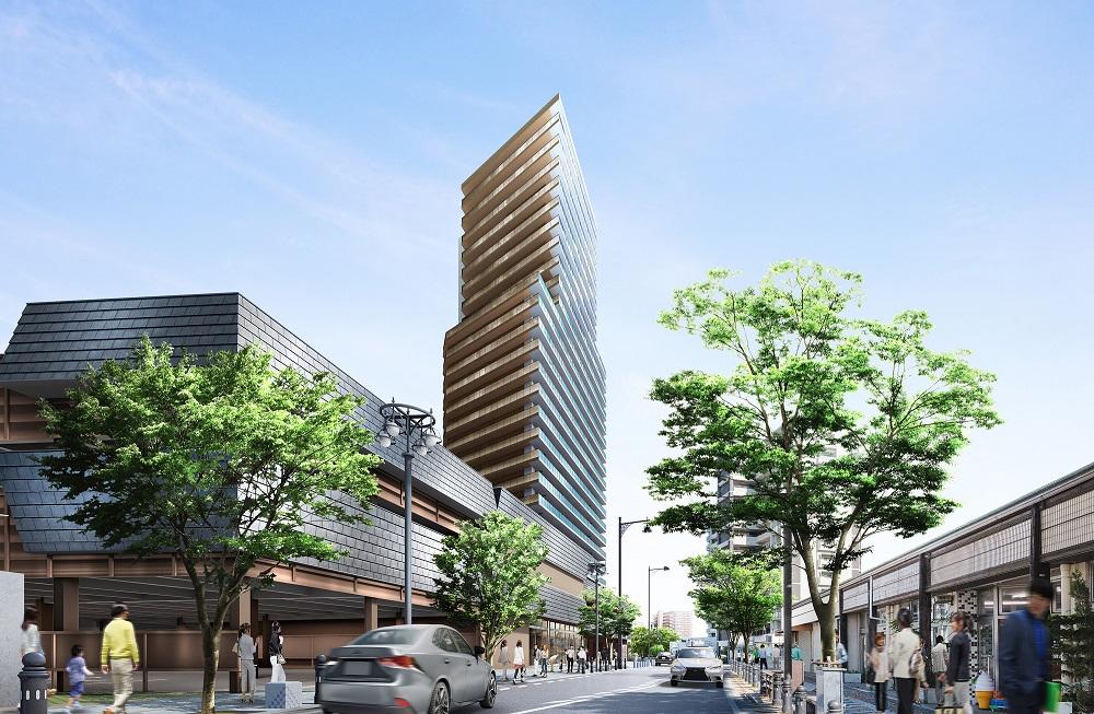 エクセルグランデ刈谷銀座タワー(外観完成予想図)