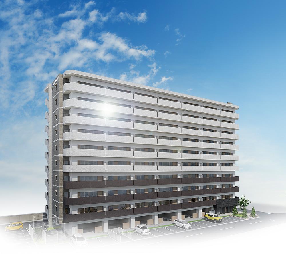 アルファスマート姫路市役所南(外観完成予想CG)