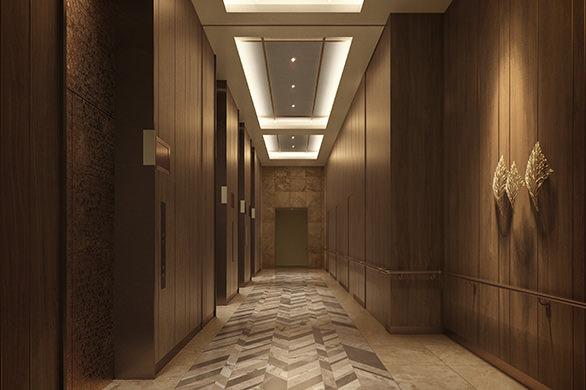 Elevator Hall完成予想CG