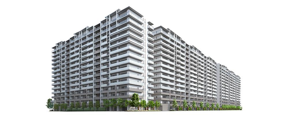 SHINTO CITY(外観完成予想図)