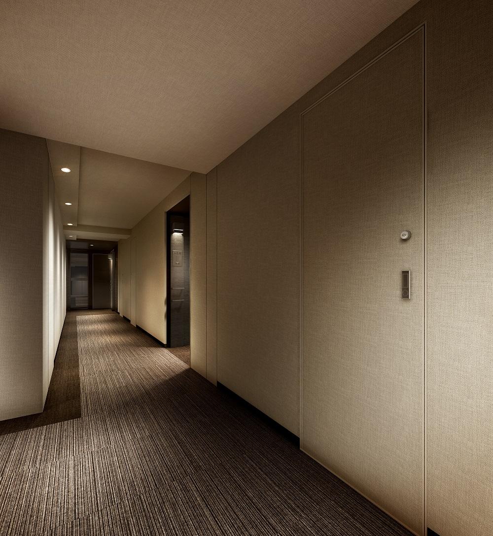 内廊下完成予想図