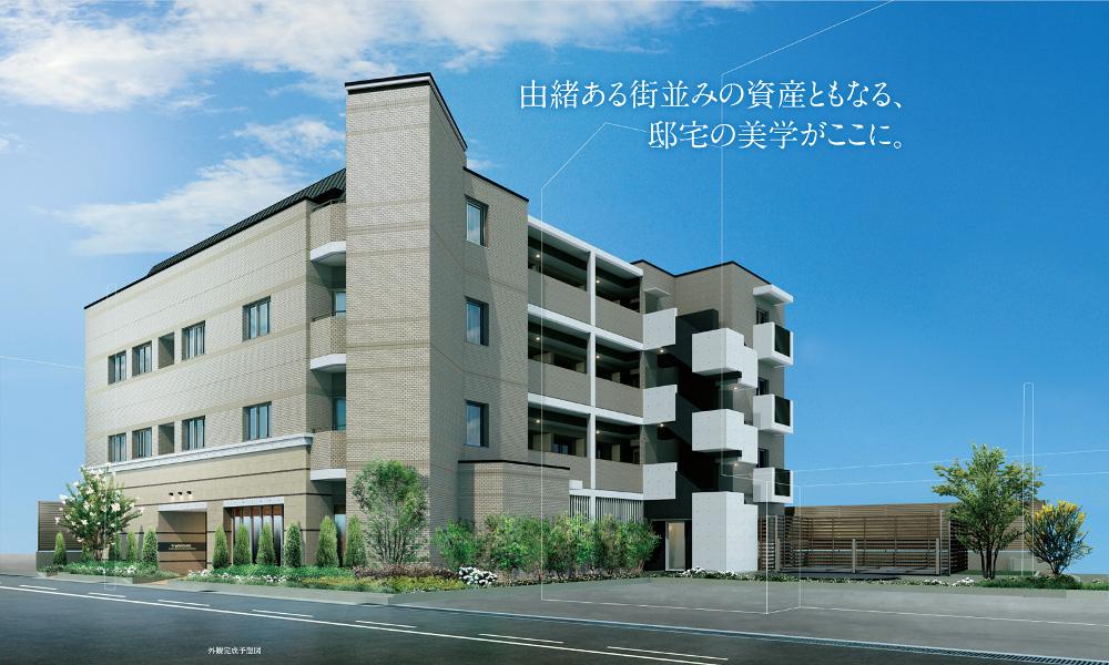 ワコーレ甲子園六石町ザ・レジデンス(外観完成予想図)