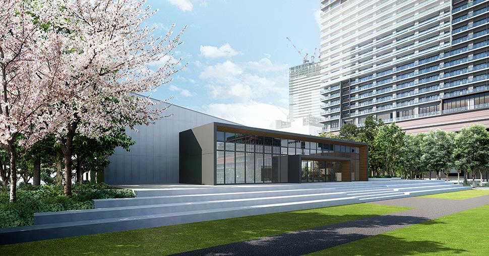 ブランズタワー豊洲(スーパーマーケット完成予想CG<br /> ※2022年4月開業予定。変更になる場合がございます。)