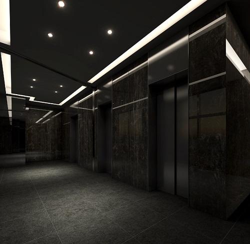 1階エレベーターホール完成予想図