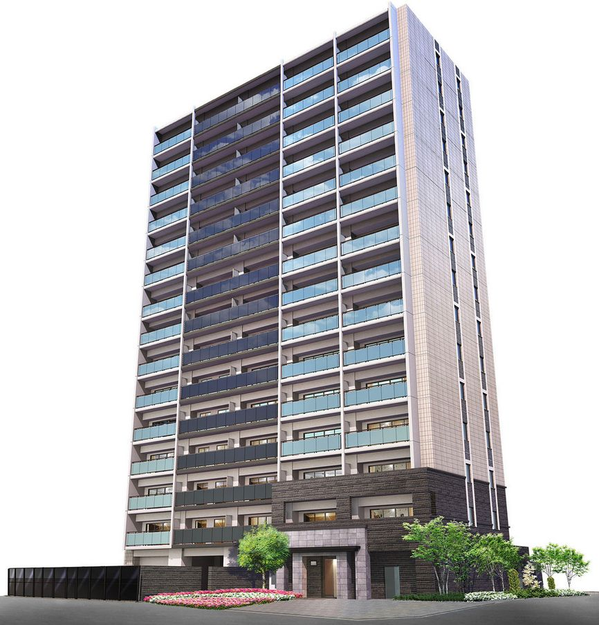 ユニハイム泉佐野駅前通り(外観完成予想図)