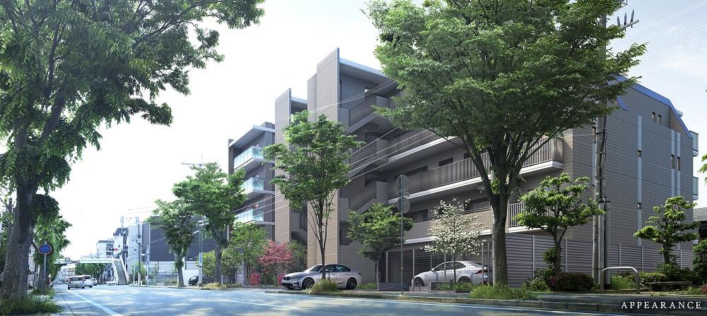クレヴィア甲子園欅通り(外観完成予想図)