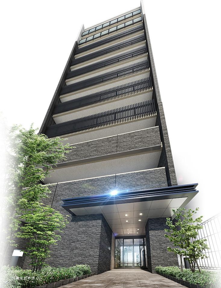 サンクレイドル平井II(外観完成予想図)
