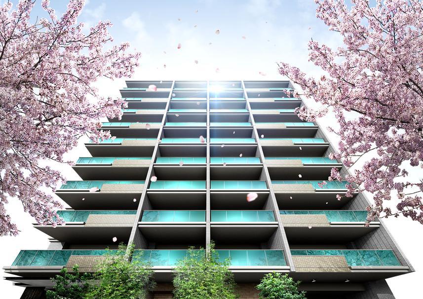 エクセレントシティ久米川駅前(外観完成予想図)