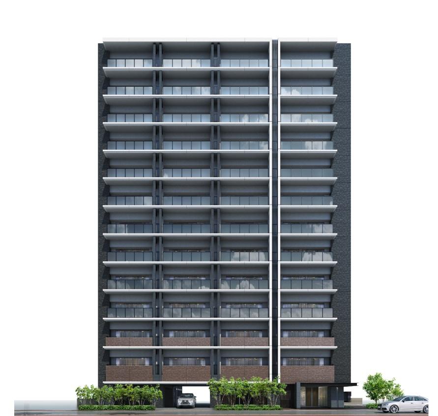 サーパス倉敷駅西レジデンス(外観完成予想図)