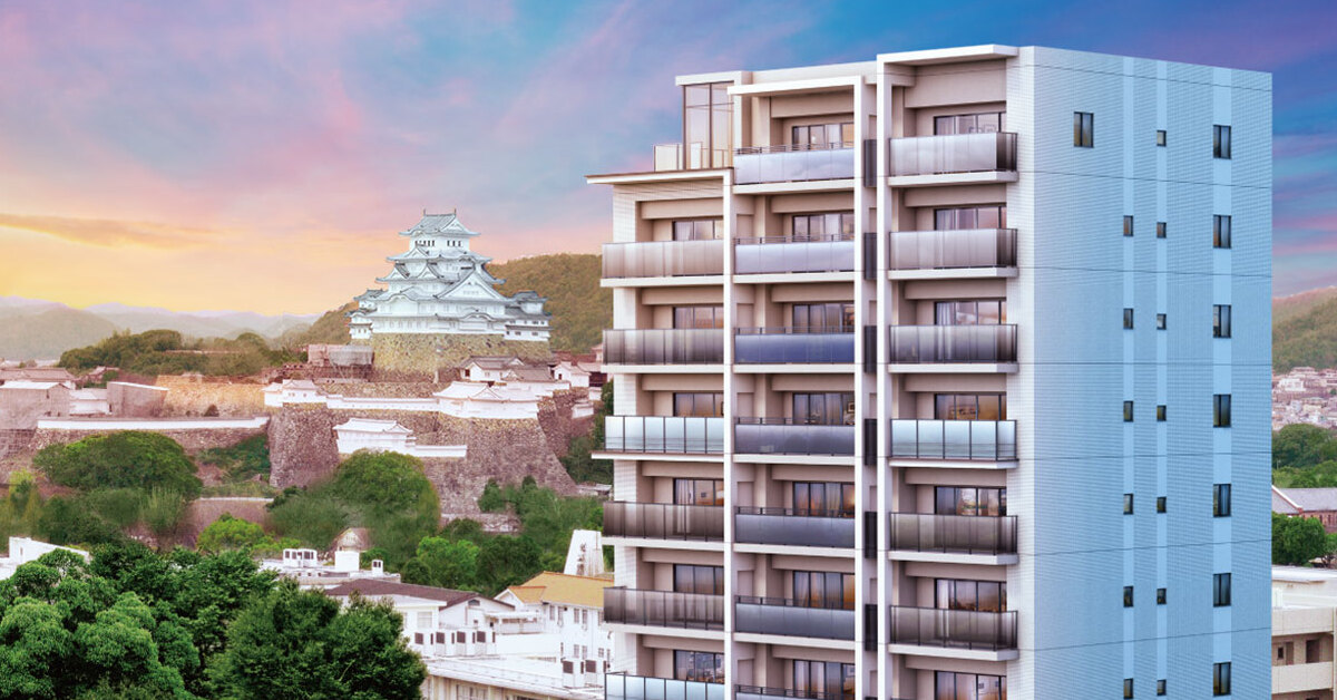 シエリア姫路城東(外観完成予想CG)