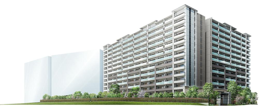茨木ICO CITY East Court(外観完成予想CG)