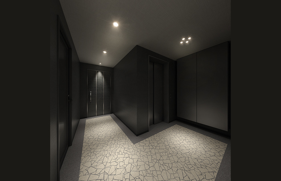 内廊下完成予想CG