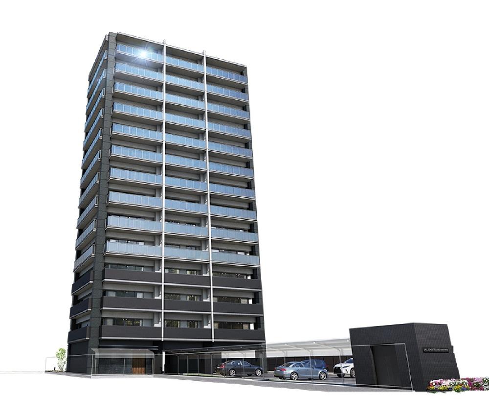 ラルステージ天神川駅前(外観完成予想図)