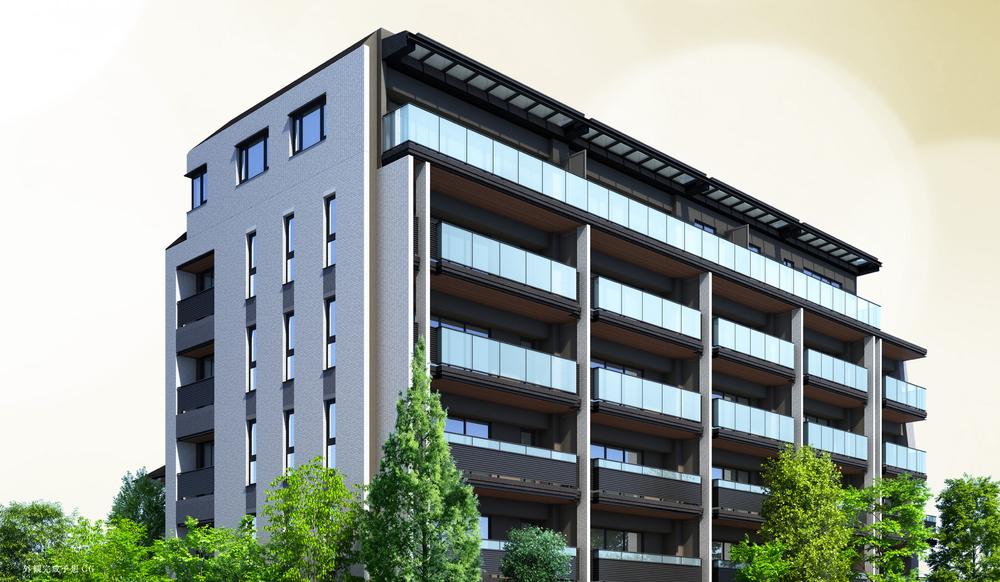 パークホームズ駒沢大学(外観完成予想CG)
