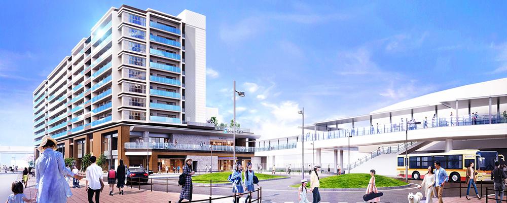 ライオンズ横濱瀬谷ステーションスクエア(外観完成予想図)