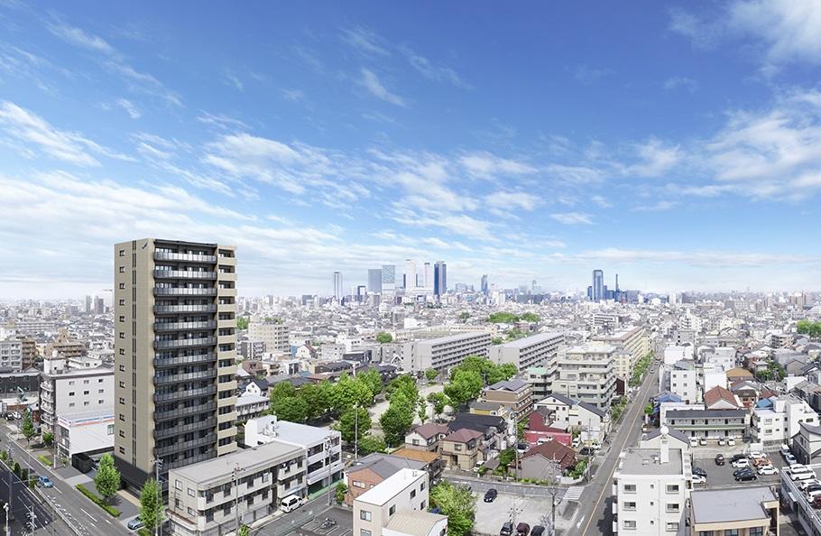 サンクレーア岩塚(建物外観完成予想CG)