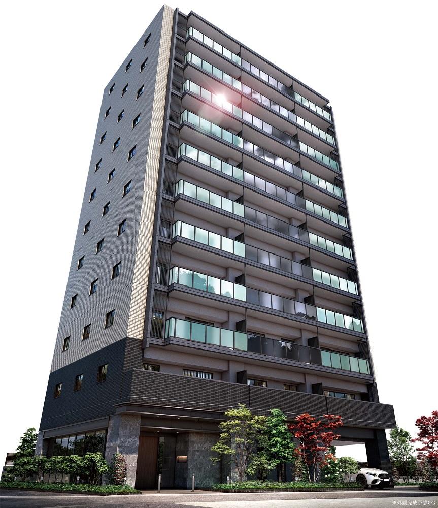 サンクレイドル平井III(外観完成予想CG)