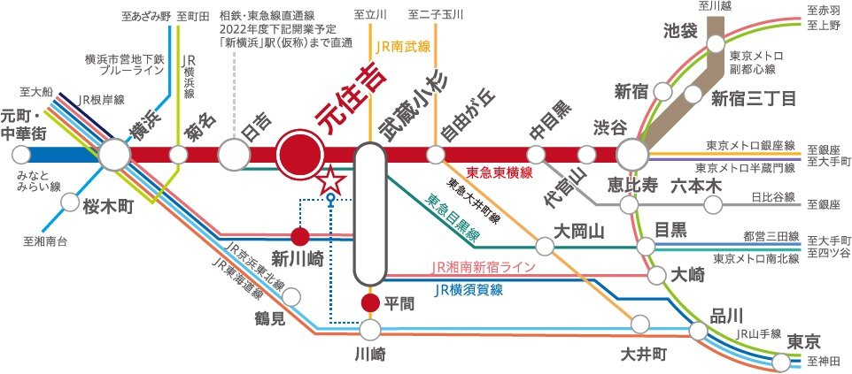 Route Map 路線図