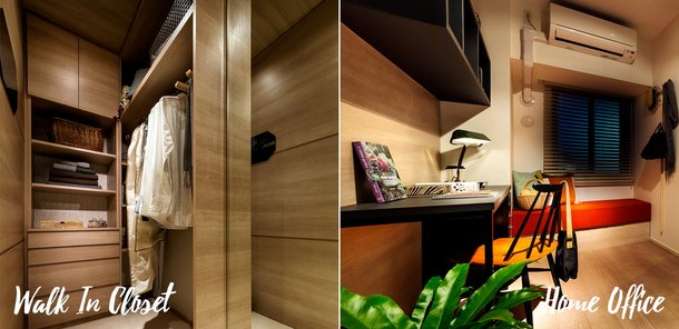 WALK IN CLOSET / HOME OFFICE
