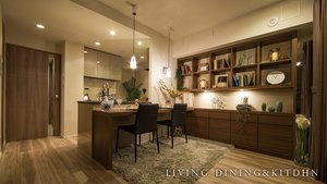LIVING DINING&KITCHEN
