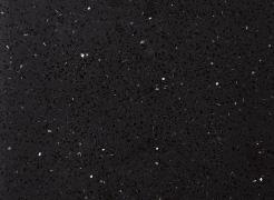 【カウンタートップ】  高純度水晶含有のクォーツストーンを採用