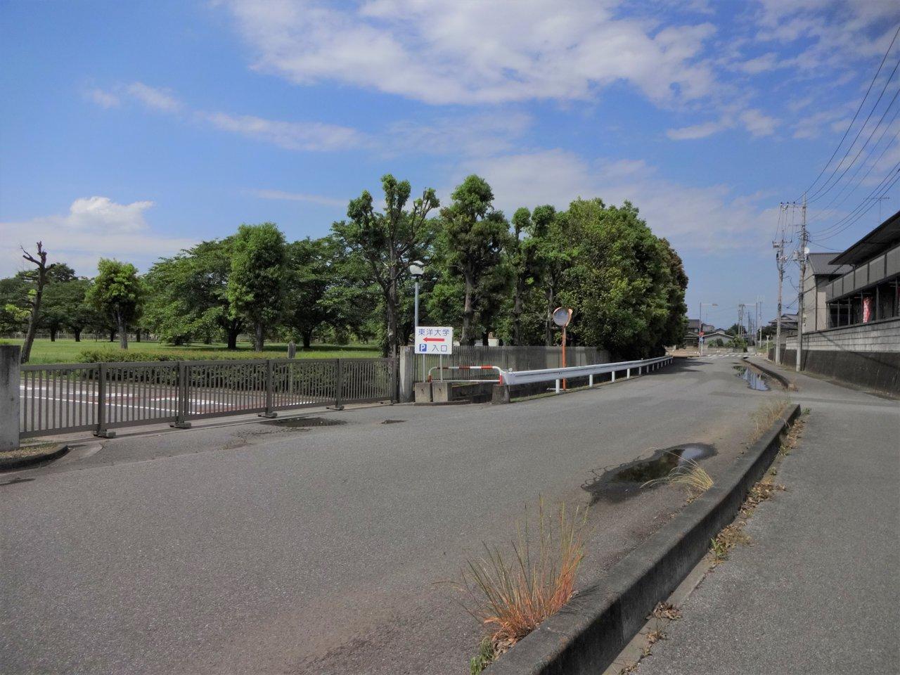 板倉 キャンパス 大学 東洋